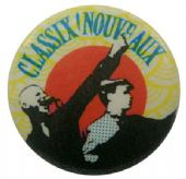 Classix Nouveaux - 'Red Sun' Button Badge